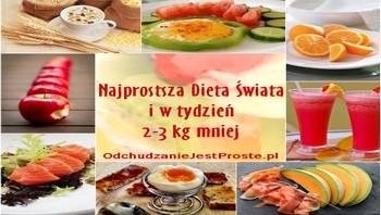 Jak schudnąć 2-3 kg w tydzień - najprostsza dieta świata