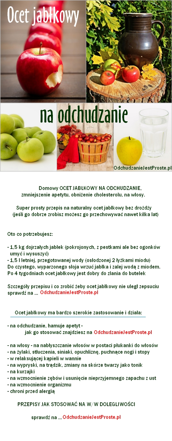 WAŻNE: Co stanie się, gdy będziesz pić regularnie ocet jabłkowy?